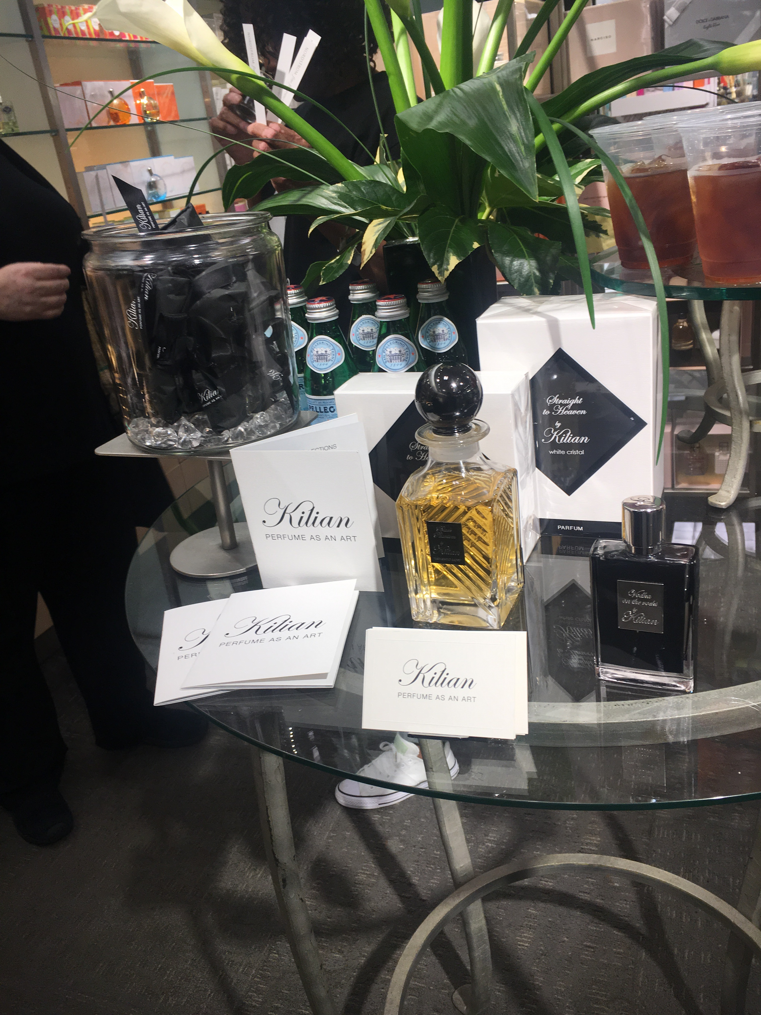Bottle Poppin And Fragrance Shoppin Nordstroms Coffee To Parfum Mafia I Was Introduced A Brand Wasnt Familiar With Kilian Perfume As An Art Presented Such Luxurious Display Had Investigate